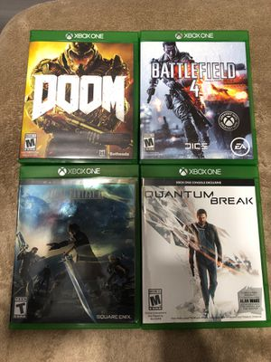 13 games, 8 for Xbox and 5 for PlayStation 4 for Sale in Henderson, NV