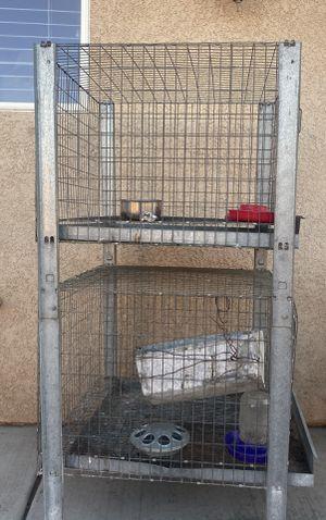 Bird animal cage for Sale in Hesperia, CA