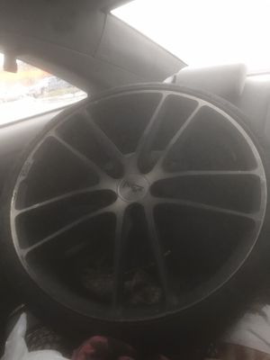 2 brand new tires and rims for Sale in Johnston, RI
