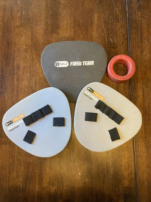 3 SKLZ Softhands Baseball/softball fielding trainers & bat weight for Sale in Los Angeles, CA