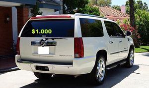 🍁URGENT!🍁 🔑🔑$1O00 I Selling 2OO8 Cadillac Escalade ,Very Clean! for Sale in Washington, DC
