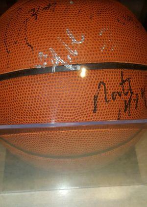 Blazers 2009 Team B-ball Autographed Roy & Aldridge w/ Display Case for Sale in Portland, OR