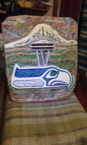 One of a kind Seahawks carving for Sale in Kent, WA