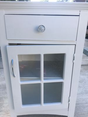 white cabinet/side dresser for Sale in Richmond, VA