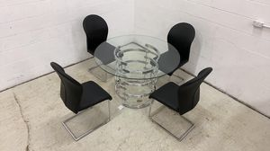 Please Read Description. Tayside Glass Top Table and 4 Chairs for Sale in Hammond, IN