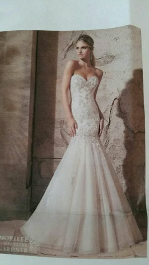 Mori Lee Wedding Dress-paid 1500-worn once for Sale in Orlando, FL