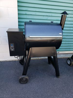 Traeger Pro Series 22 Blue Wood Pellet Grill for Sale, used for sale  East Point, GA