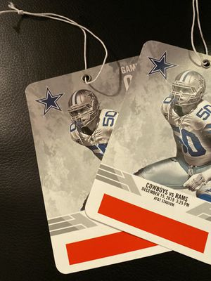 Cowboys vs Rams - Pre-game field passes for Sale in McKinney, TX