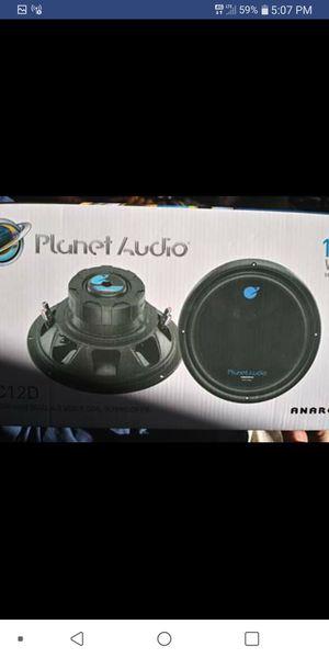 12in brand new planet audio speaker cords for Sale in Oceano, CA