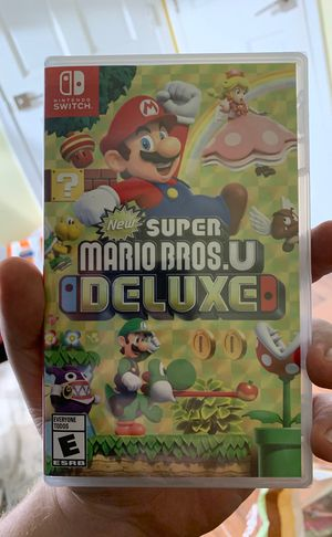 BRAND NEW Super Mario Bros. U Deluxe for Nintendo Switch for Sale in Washington, DC