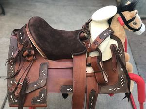 "New 15"" Horse Saddle for Sale in Riverside, CA"