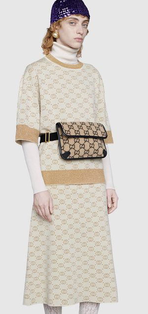 Gucci Wool Belt Bag Cream/Black sold out! for Sale in Princeton, NJ