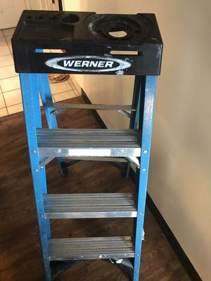Werner 4 step ladder for Sale in Columbia, SC
