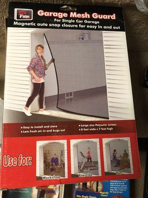 Garage door mesh screen for Sale in Delmont, PA