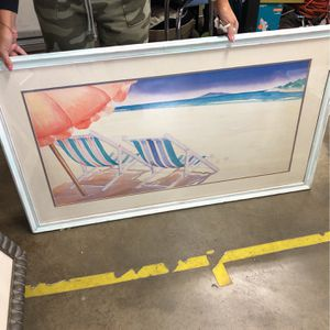 Vintage Beach Picture for Sale in Chino, CA