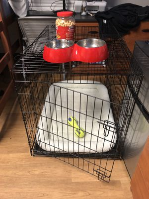 Dog Cage & Supplies for Sale in Tampa, FL