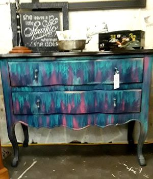 Two drawer hand painted chest for Sale in Vancouver, WA