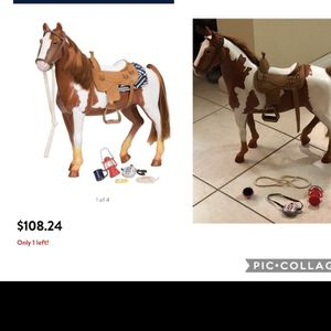 Our Generation Horse For American girl doll size for Sale in Fort Lauderdale, FL