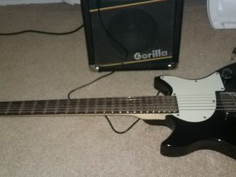 Electric Guitar. First Act. And Gorilla Amp for Sale in Easley,  SC