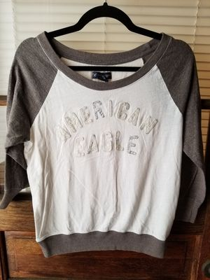 American Eagle Women's Size Small Three Quarter Length Sleeve Tee Shirt for Sale in Pittsburgh, PA