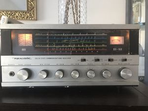 Realistic Solid State Communications Receiver for Sale in Los Angeles, CA