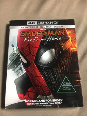 SpiderMan far from home 4K and Blu-ray NO DIGITAL CODE for Sale in Las Vegas, NV