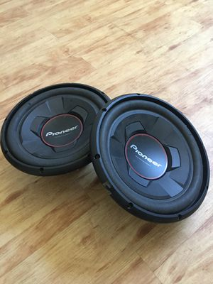 Pioneer subwoofer 1500 wts for Sale in Grand Prairie, TX