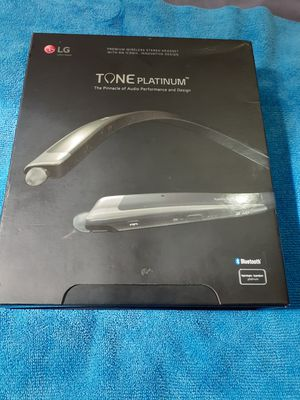 LG Tone Platinum Bluetooth Wireless headset new for Sale in Miami Beach, FL