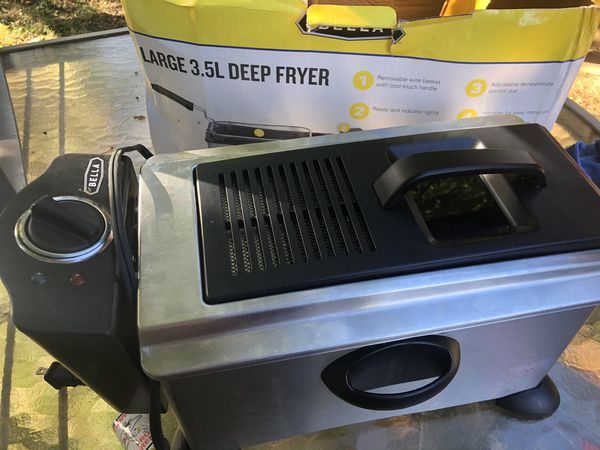 Bella deep fryer