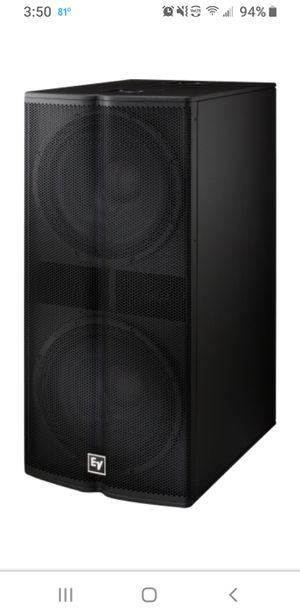 Electro voice tx2181 dual 18 for Sale in Phoenix, AZ