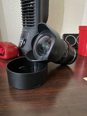 Rokinon 14mm E mount lens 2.8f for Sale in Houston, TX