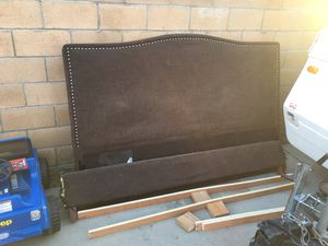 Free cal king bed frame for Sale in Fontana, CA