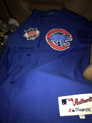 Authentic Chicago Cubs jersey. for Sale in Edmonds, WA