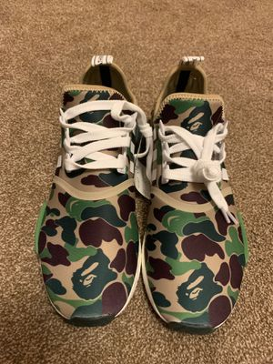 Bape x Adidas Olive r1 camo NMD for Sale in Daniels, MD