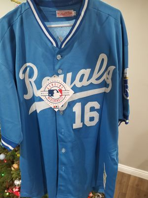 Brand new Bo Jackson Mitchell Ness Throwback KC Jersey with tags size XXL! for Sale in West Covina, CA