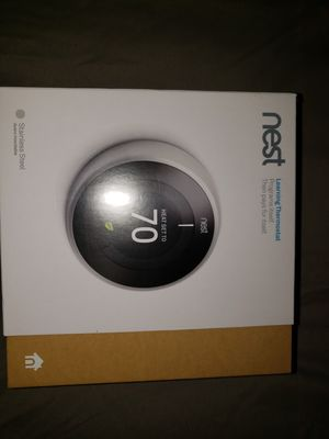 Brand new never opened nest thermostat. for Sale in Chesapeake, VA
