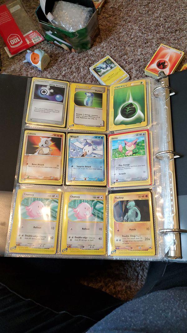 Pokemon card collection e reader series