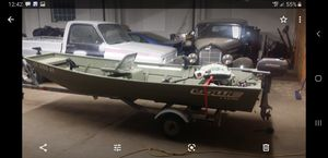 Flatbottom bass boat for Sale in East Haven, CT