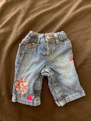 Baby Gap 0-3 months Girls Jeans for Sale in Surprise, AZ