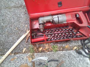 Milwaukee HD right angle drill w/bits for Sale in Satsuma, FL