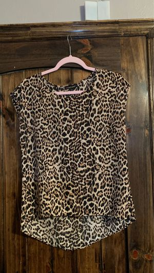 print blouse size M for Sale in Baytown, TX