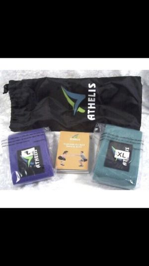 Resistant workout bands for legs and thighs for Sale in San Diego, CA