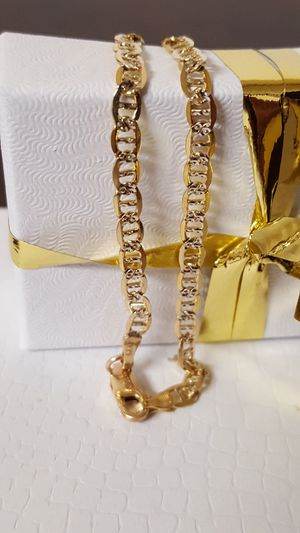 "Precious 10k Real Gold Italy Link Chain Bracelet, 2.77grs Size 7""inches length for Sale in Covington, KY"