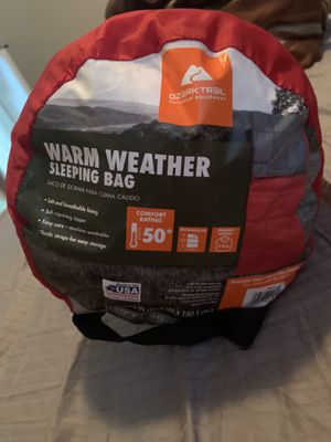 Warm weather sleeping bag for Sale in Davenport, FL