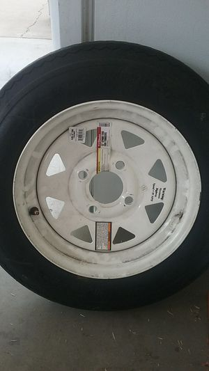 """12"""" spare tire for trailers,4 lug load B for Sale in Phoenix, AZ"""
