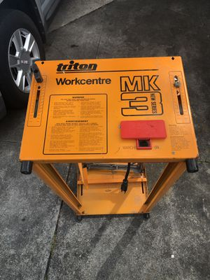 Triton Table Saw Stand for Sale in St. Petersburg, FL