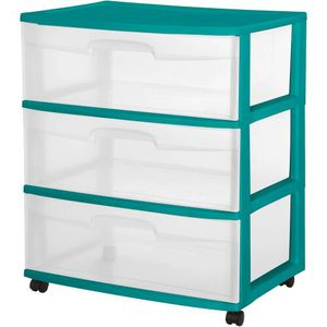 Plastic 3 drawer cart for Sale in San Diego, CA