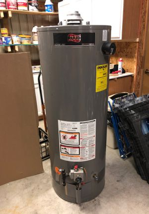 Rudd 50 gallon water heater LP $175 for Sale in Clayton, NC