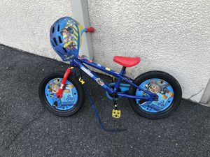 Toddler's bike and helmet for Sale in Chesapeake, VA