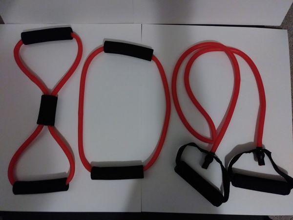 3 Piece Resistance Bands Workout Set